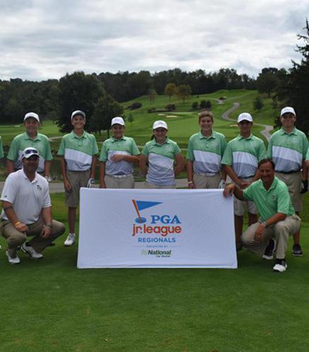 2018 PGA Jr League Golf Advert Photo